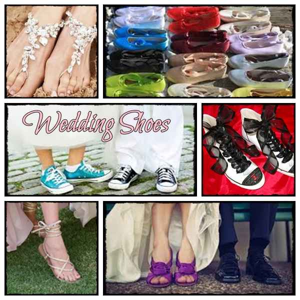 What's your wedding shoe!